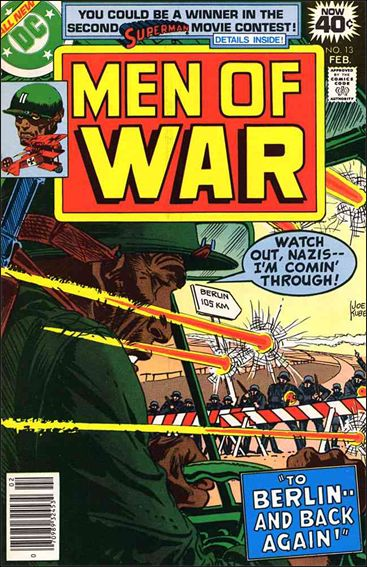 Men of War (1977) 13-A by DC