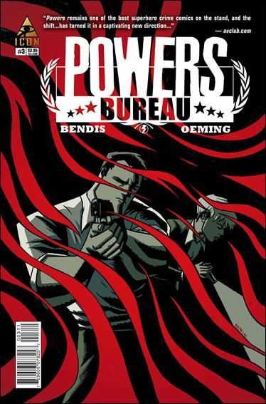 Powers: The Bureau 3-A by Icon