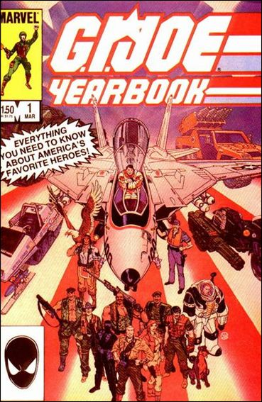 G.I. Joe Yearbook 1-A by Marvel