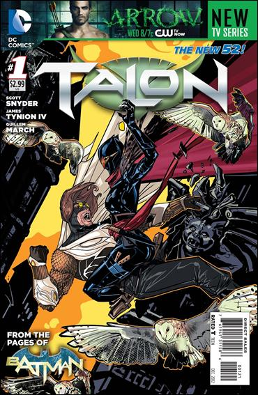Talon (2012) 1-B by DC