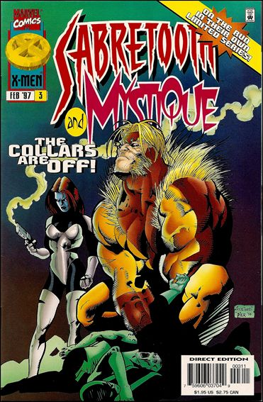 Mystique & Sabretooth 3-A by Marvel