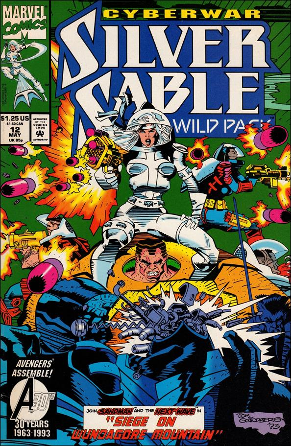 Silver Sable & The Wild Pack 12-A by Marvel