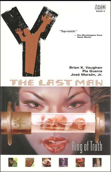 Y: The Last Man 5-B by Vertigo