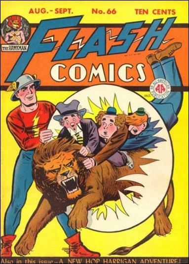 Flash Comics (1939) 66-A by DC