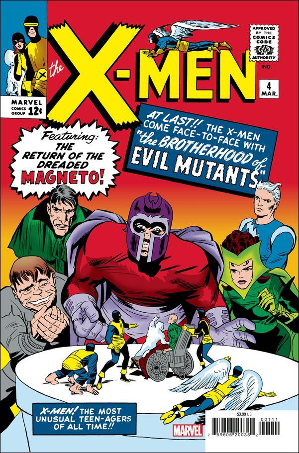 X-Men (1963) 4-C by Marvel