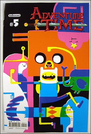 Adventure Time 5-B by Kaboom!