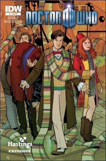 Doctor Who (2012) 1-D by IDW