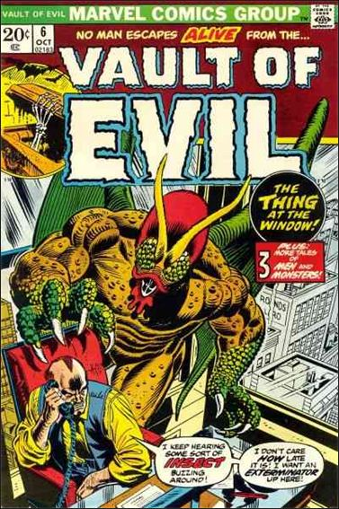 Vault of Evil 6-A by Marvel