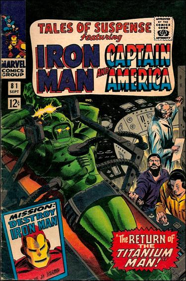 Tales of Suspense (1959) 81-A by Marvel