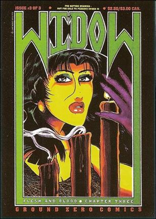 Widow Special Edition Collector's Card Set (Base Set) 21-A