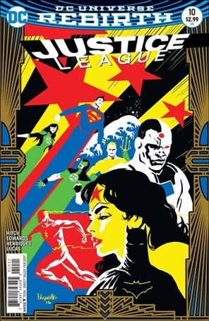 Justice League (2016) 10-B