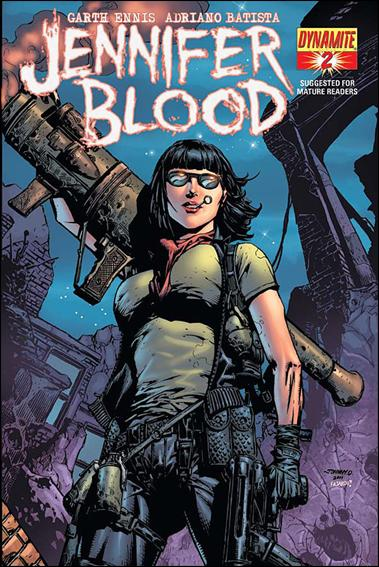 Jennifer Blood 2-D by Dynamite Entertainment