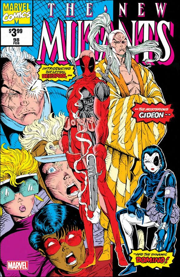 New Mutants (1983) 98-B by Marvel