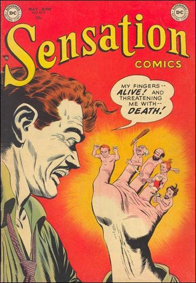 Sensation Comics (1942) 109-A by DC