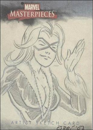 2007 Marvel Masterpieces (Sketch Card Subset) DE-A