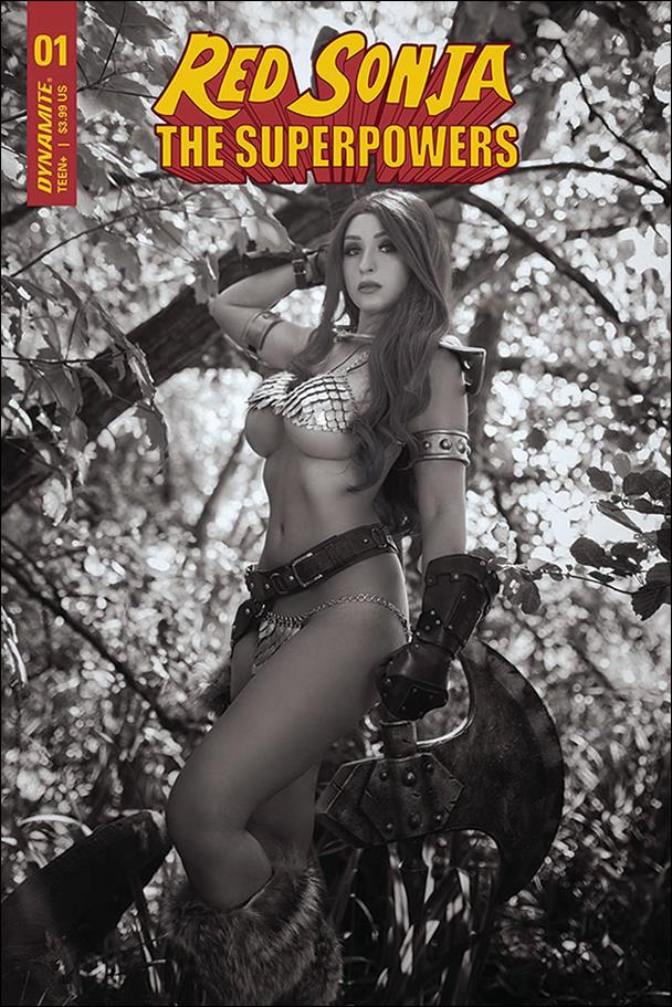 Red Sonja: The Superpowers 1-N by Dynamite Entertainment