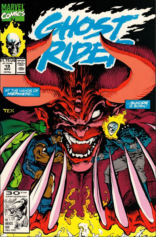 Ghost Rider (1990) 19-A by Marvel