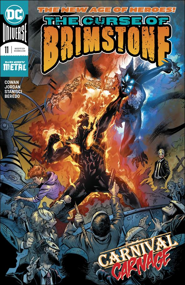 Curse of Brimstone 11-A by DC