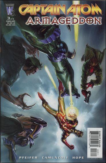 Captain Atom: Armageddon 3-A by WildStorm