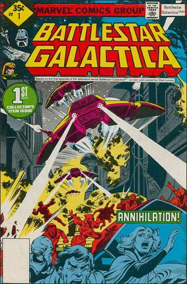 Battlestar Galactica (1979) 1-B by Marvel