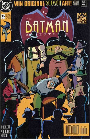 Batman Adventures (1992) 15-A by DC