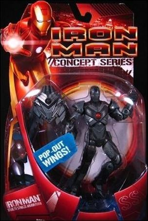 Iron Man (Movie) Iron Man (Stealth Striker Armor)