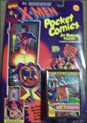 X-Men Pocket Comics Playsets Jet Hanger Playset
