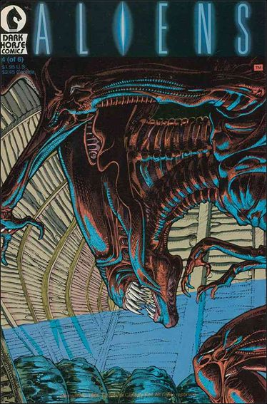 Aliens (1988) 4-A by Dark Horse