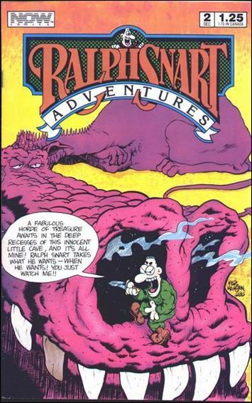 Ralph Snart Adventures (1986/11) 2-A by Now Comics