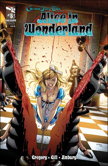 Grimm Fairy Tales Presents Alice in Wonderland 5-B by Zenescope Entertainment
