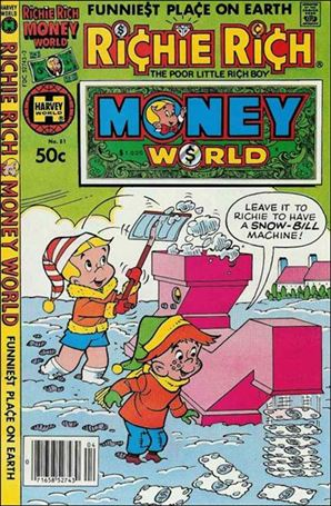 Richie Rich Money World 51-A