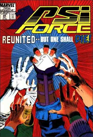 Psi-Force 24-A by Marvel