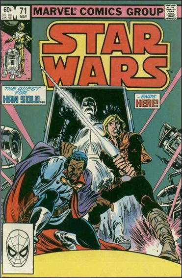 Star Wars (1977) 71-A by Marvel