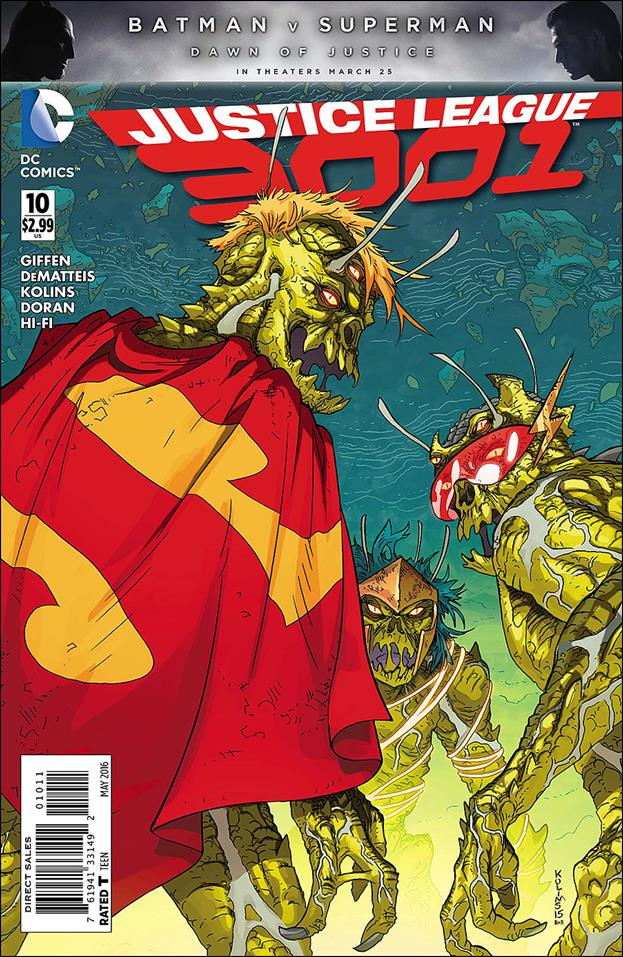 Justice League 3001 10-A by DC