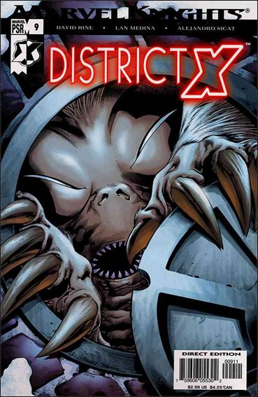 District X 9-A by Marvel