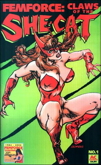 Femforce: Claws of the She-Cat 1-A by AC