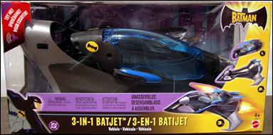 Batman (Vehicles) 3-in-1 Batjet by Mattel