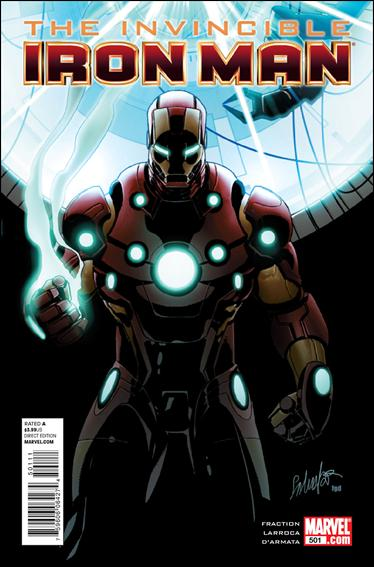 Invincible Iron Man (2008) 501-A by Marvel