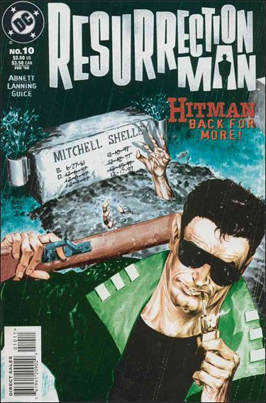 Resurrection Man (1997) 10-A by DC