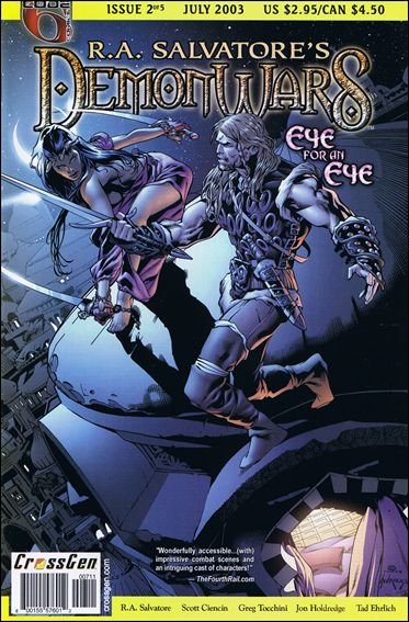 R.A. Salvatore's DemonWars: Eye for an Eye 2-A by CrossGen