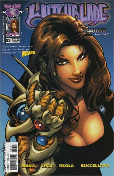 Witchblade 89-A by Top Cow
