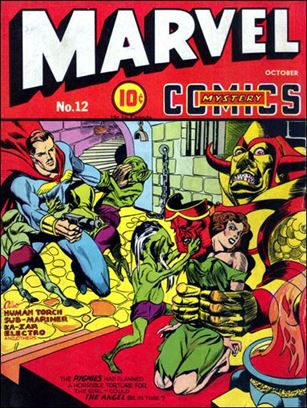 Marvel Mystery Comics (1939) 12-A