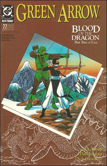 Green Arrow (1988) 22-A by DC