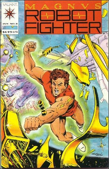 Magnus Robot Fighter (1991) 8-A by Valiant