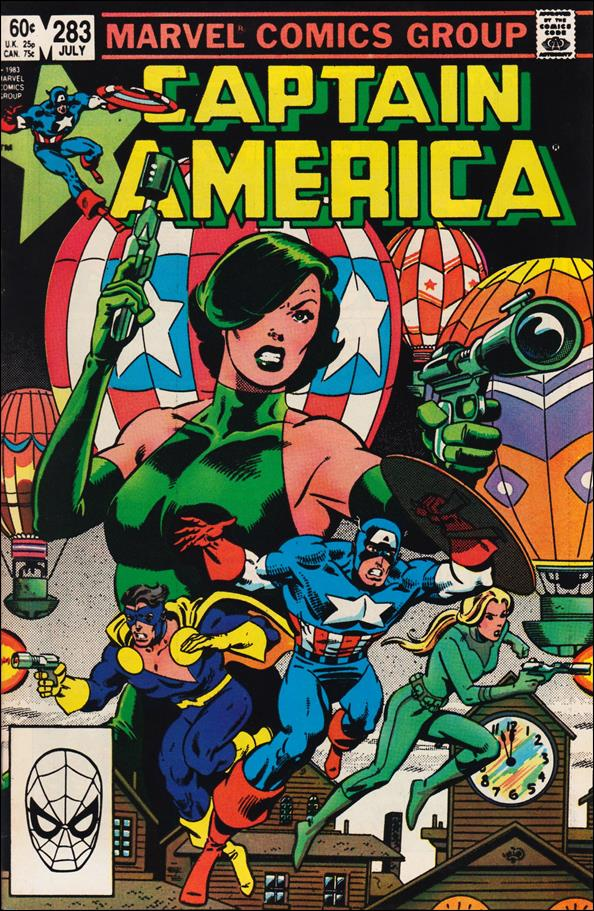 Captain America (1968) 283-A by Marvel