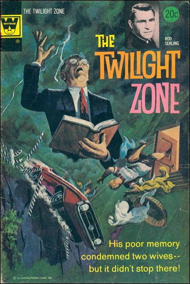 Twilight Zone (1962) 55-B by Gold Key