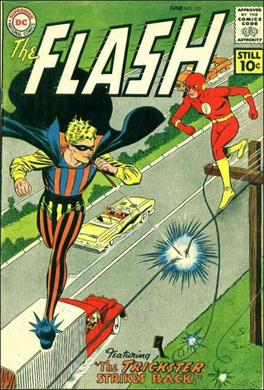 Flash (1959) 121-A by DC