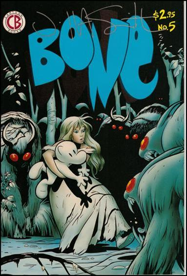 Bone (1991) 5-B by Cartoon Books