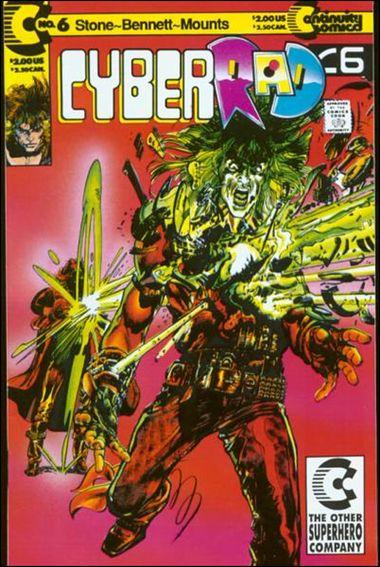 CyberRad (1991) 6-A by Continuity Comics