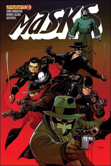 Masks 6-C by Dynamite Entertainment